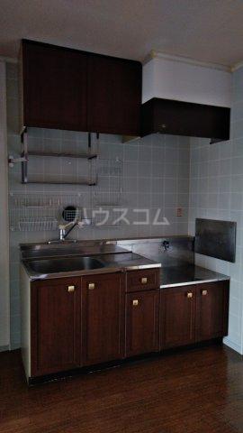 ハニーゴールド 105号室のキッチン