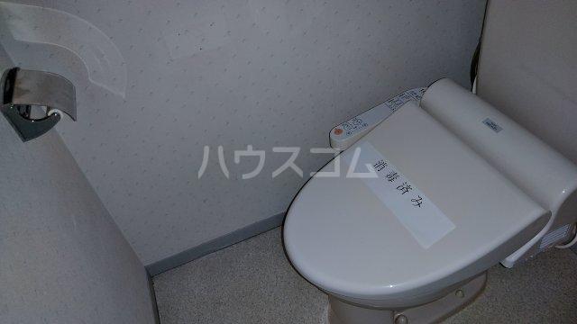 ハニーゴールド 105号室のトイレ