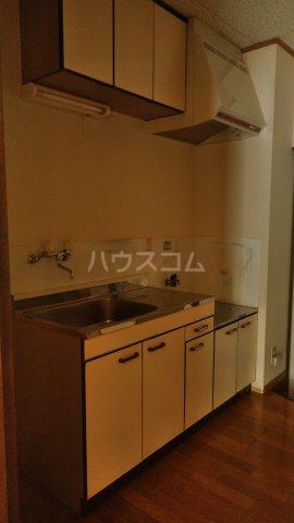 アプリコットⅡ 108号室のキッチン