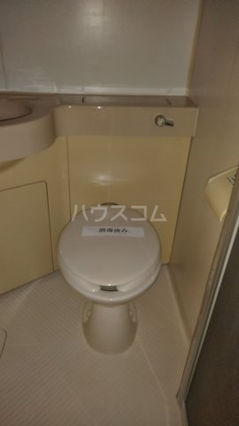 アプリコットⅡ 108号室のトイレ