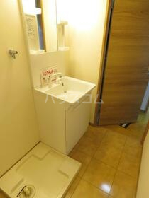 Y&M VillaWhite 101号室の洗面所