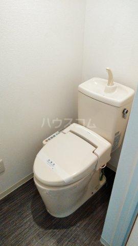 神宮スカイハイツ 113号室のトイレ