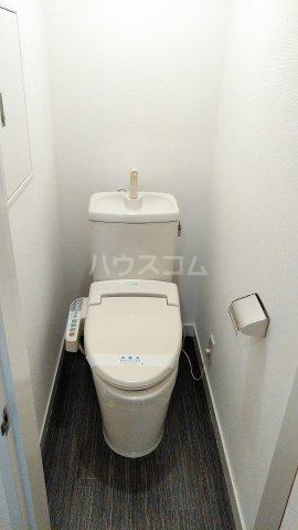 神宮スカイハイツ 218号室のトイレ
