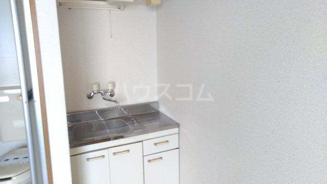 ゼロジーブロック 210号室のキッチン