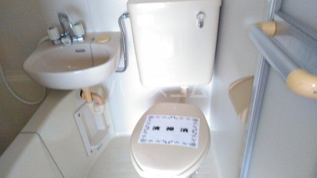 ゼロジーブロック 210号室のトイレ