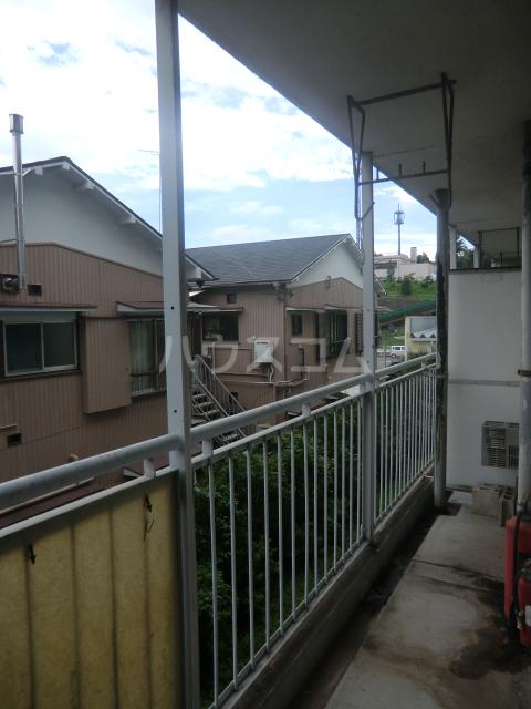 菅田農住ハイツA棟 203号室のバルコニー