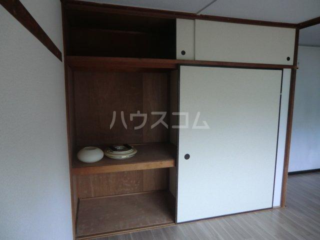 菅田農住ハイツA棟 203号室の収納