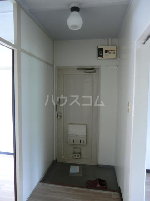菅田農住ハイツA棟 203号室の玄関