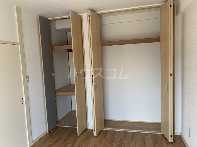 飯田マンション 402号室の収納