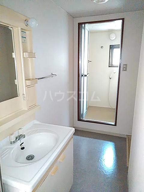 ピアメゾン鹿子 201号室の洗面所