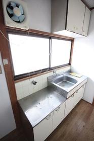春日原ハイツ 202号室のキッチン