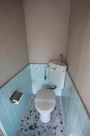 春日原ハイツ 202号室のトイレ