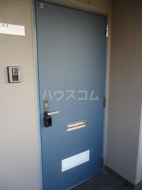 コーポ高幸 104号室の玄関