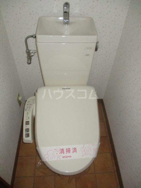 コーポ高幸 104号室のトイレ