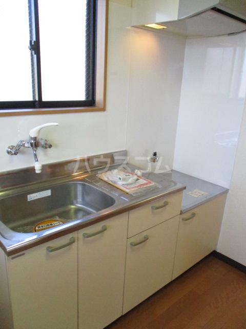 グレースヒルズ 302号室のキッチン