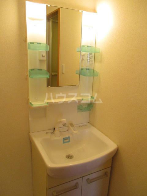 グレースヒルズ 302号室の洗面所
