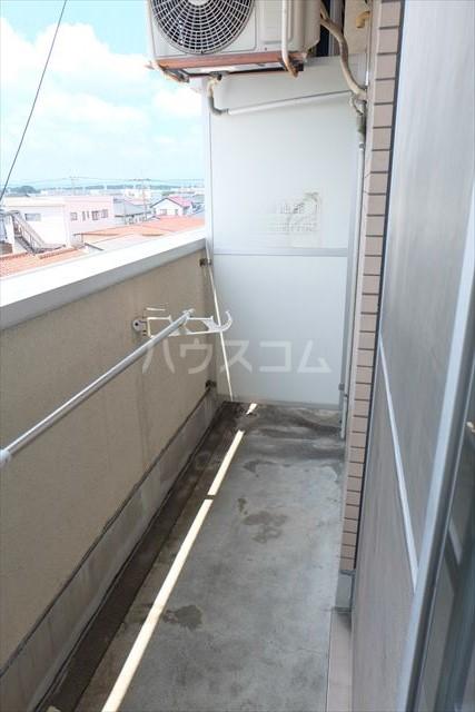 エトワール宇都宮第3 404号室のバルコニー