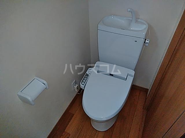 下岡本戸建第9期のトイレ