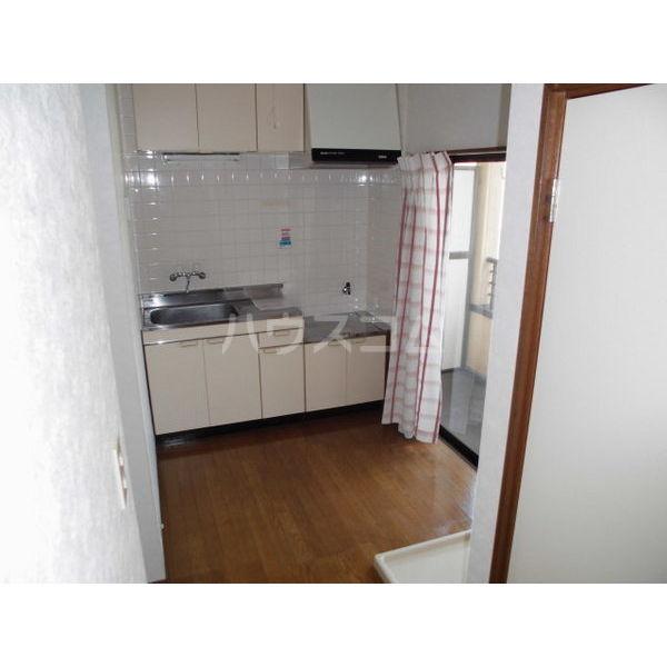 メゾンブランジェ 202号室のキッチン