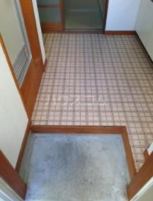 サンヨーハイツ 105号室の玄関