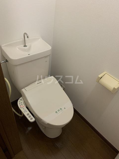 アルエットコリーヌ 101号室のトイレ
