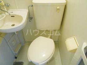 メゾンフレール 102号室のトイレ