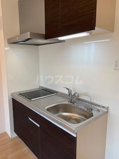ハウス三生 203号室のキッチン