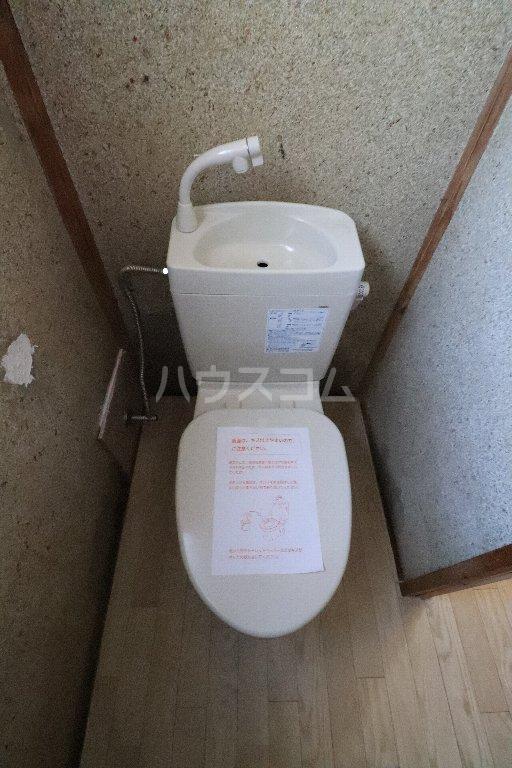 野田市三ツ堀戸建のトイレ