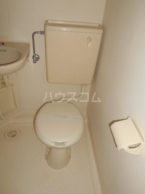 サンヒルズ飯塚 206号室のトイレ