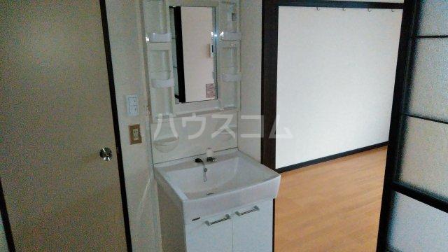 野村ハイツD 202号室の洗面所