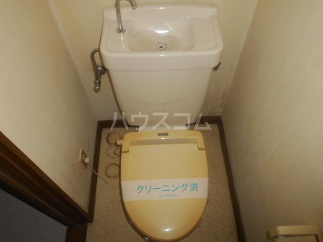 下城ハイツC 103号室のトイレ