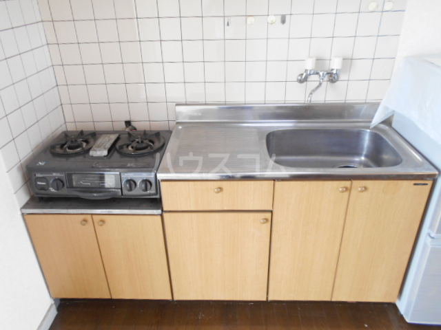 東ハイツ 203号室のキッチン