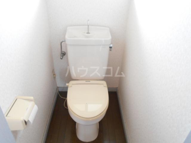 東ハイツ 203号室のトイレ