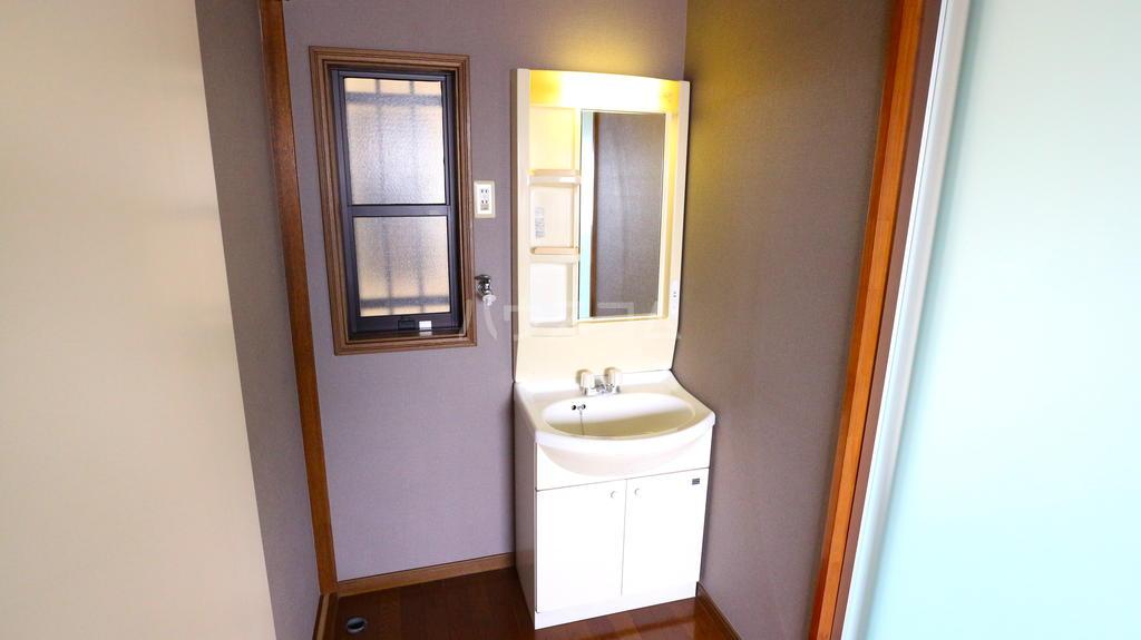 OKハイツ茂呂 19号室の洗面所