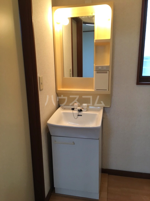 シャレル山王 41号室の洗面所