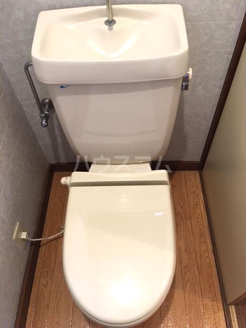 シャレル山王 41号室のトイレ