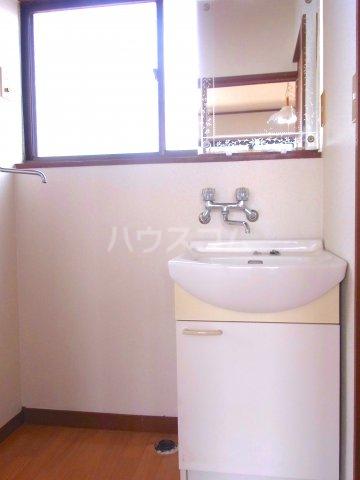 シャレル八斗島 29号室の洗面所