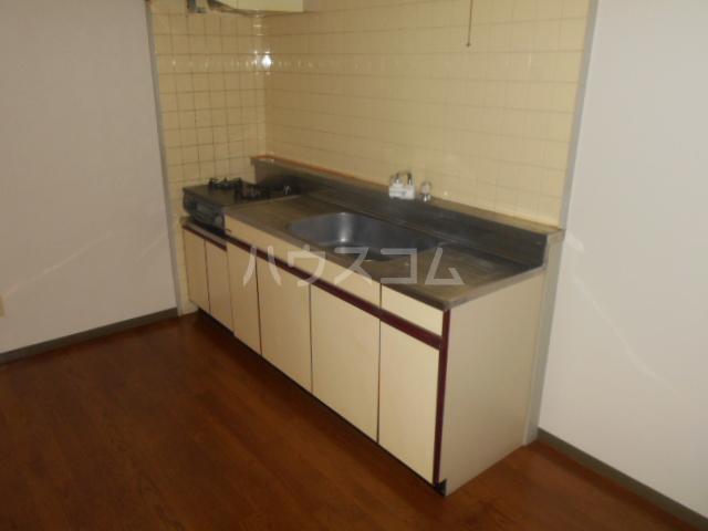 伊勢崎第二コートハウス 105号室のキッチン