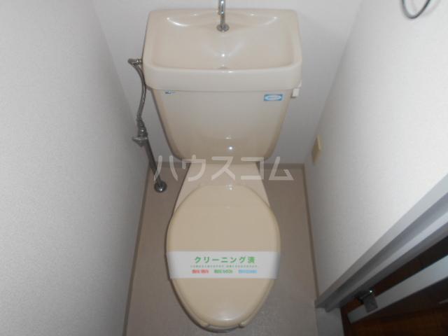 伊勢崎第二コートハウス 105号室のトイレ