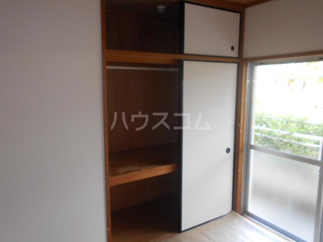 伊勢崎第二コートハウス 105号室の収納