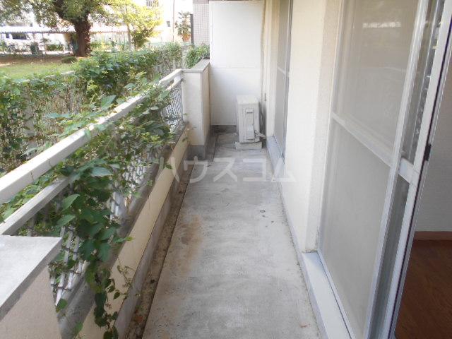 伊勢崎第二コートハウス 105号室のバルコニー