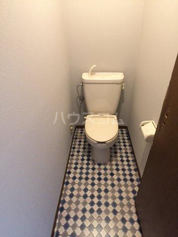 Secret base 201号室のトイレ