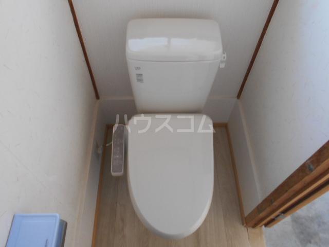 吉澤住宅A6のトイレ