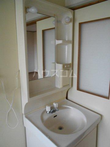 コーポ二村 101号室の洗面所