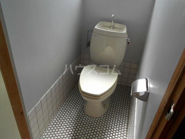 コーポ二村 101号室のトイレ