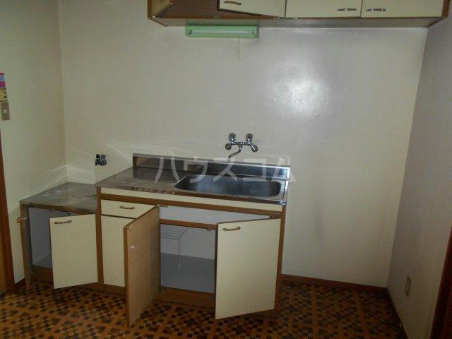 コーポ二村 101号室のキッチン