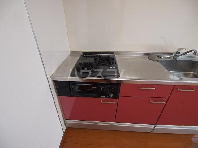 Lugar・duのキッチン