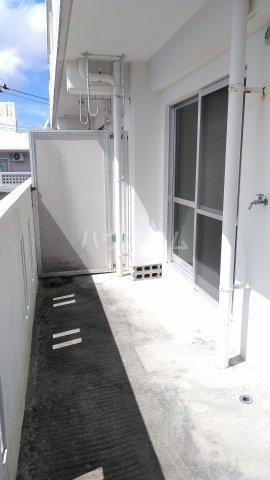 シャトレ高良 301号室のバルコニー