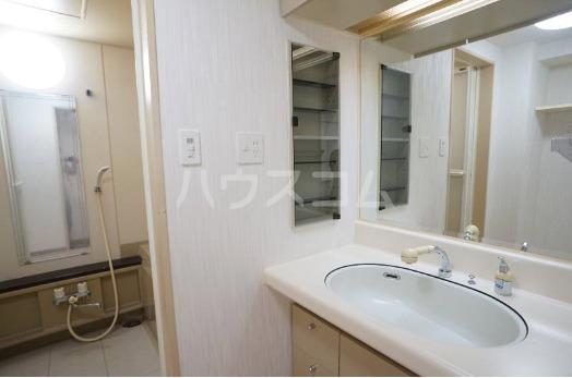 ファミール西町ポートサイド 10F号室の洗面所