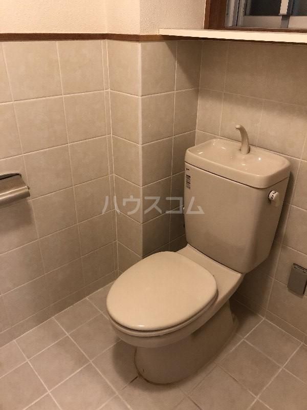 宮里マンション 306号室のトイレ